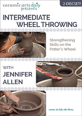 Intermediate Wheel Throwing DVD cover